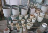 Crogiolo di ceramica personalizzato dell'allumina