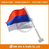カスタム各国用の広告ポリエステル手のフラグか旗