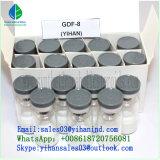 El 99% péptido de la miostatina/Gdf-8/GDF8/Gdf 8El crecimiento de las células musculares de esteroides en polvo crudo/drogas/Paypal/Reship/1mg/vial