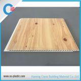 el panel de pared de sellado caliente de madera del PVC del panel de techo del PVC de 250*7.5m m