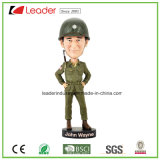 Polyresin Craft Bobblehead Figurine for Promotion Gift e Home Decoraiton, OEM são bem-vindos