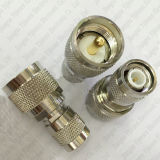 Adattatore coassiale TNC Jack maschio di rf all'adattatore maschio del connettore di frequenza ultraelevata Jack