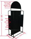 Estante de visualización derecho de Pegboard del metal del suelo para el almacén de los ornamentos