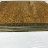 Vernis UV fumé large planche de bois d'ingénierie planchers de chêne
