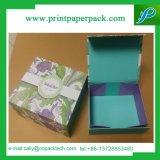 Упаковывая складывая коробка упаковки подарка бумажной коробки печатание картона коробки