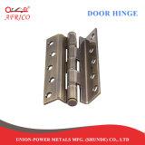 振動ドアのための2ボールベアリングが付いているL不安定な鋼鉄平たい箱の王冠のフラッシュヒンジ