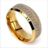 Trouwring van de Manier van het Roestvrij staal van de Juwelen van het Ontwerp van juwelen de Nieuwe