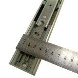 3 piste fermante molle télescopique de diapositive 45mm roulement à billes de glissière de tiroir de la Manche de fois