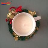Candela elegante bianca di ceramica della tazza della tazza per il regalo