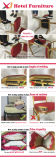 Goedkope het Dineren van het Banket van het Staal Stoel voor Hotel/Restaurant/Huwelijk