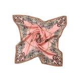 Bildschirm gedruckten Satin-Silk Schal von China kundenspezifisch anfertigen