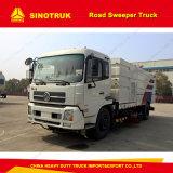 Via di pulizia del camion della spazzatrice di strada di Sinotruk HOWO 4X2