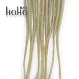 Do cabelo o único 50cm Blonde terminado Backcombed da extensão teme