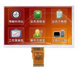 Contando do painel azul da modalidade do LCD a tela de indicador padrão do LCD