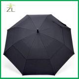 Горячий продавая зонтик гольфа двойного слоя 2018 Multi-Color Windproof