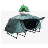 Barraca ao ar livre acolhedor impermeável tradicional da base de acampamento