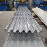 El color de hoja de aluminio corrugado recubierto con PE/PVDF para tejados