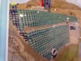HDPE PlastikGeocell verwendet im Straßenbau