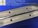 Longue charnière de piano de charnière d'acier inoxydable