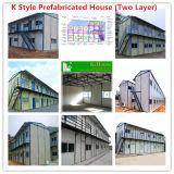 casa prefabricada de los 20FT Catainer/casa modular de acero de la luz de la estructura de acero/casa para el taller en el edificio