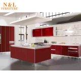 Armadio da cucina di legno della mobilia esterna di disegno moderno della mobilia di N&L