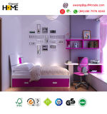Los niños modernos populares coloridos muebles de dormitorio muebles de madera (GAUSS)
