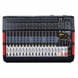 Ecualizador de 3 bandas cada canal mezclador digital PRO
