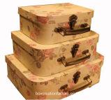Los niños Maleta Contenedor de papel Juguetes/Full Color papel Kid Maleta Box Imprimir