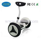 10 колесо Hoverboard самоката 2 тучной автошины дюйма электрическое с поручнем