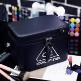 Saco cosmético Carry-on de couro da composição do plutônio da chegada 2017 nova