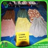 Saia de seda usada limpa por atacado das senhoras da roupa para África