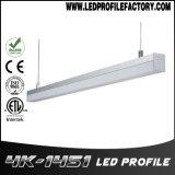 4145의 채널 선형 가벼운 알루미늄 밀어남 LED 알루미늄 단면도