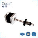 NEMA 17 de Casun 42 fase do milímetro 2 fabricante híbrido customizável mini Stepmotors do motor deslizante do ruído e da inércia do torque de 1.8 graus de altura baixo