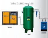 20HP 15kw Öl eingespritzter industrieller schraubenartiger Luftverdichter mit Luft-Becken