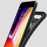 Casse del telefono del cuoio della fibra del carbonio di TPU per il iPhone 7plus /8plus
