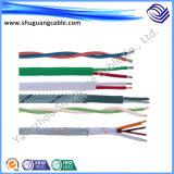 방연제 PE 절연제 PVC 칼집 방패 조종 케이블