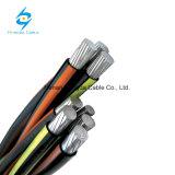 0.6-1kv XLPE Servicio aislados Incluye antena de techo aluminio Cable ABC