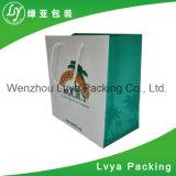 Sacs en papier de achat personnalisés neufs de cadeau avec le traitement de Chine