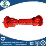 Eje impulsor de eje de la junta universal de la serie de la buena calidad SWC de Wuxi