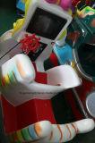 Máquina de juego de fichas del paseo del oscilación de los cabritos del equipo de la diversión de los niños de la motocicleta para el patio