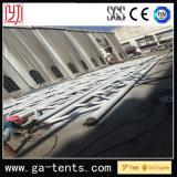 Tienda permanente de la estructura de la cubierta del acero PVDF de la tienda Q235 del Shading de la gasolinera