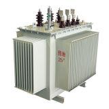 transformateur triphasé immergé dans l'huile de distribution de courant électrique de 630kVA 10kv