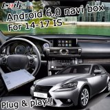 Sistema di percorso di GPS del Android 6.0 per l'interfaccia del video di Lexus Is300t Is350 2014-2017 ecc