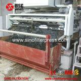 máquina neumática de la prensa de filtro de la correa del acero inoxidable de 500 milímetros