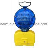 高い発電青いLEDのトラフィックの警報灯のブリンカーのバリケードライト