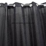 2018 das heißeste verkaufende schwarze Drucken-Polyester-Fenster-Vorhang-Gewebe im Großhandelsmarkt
