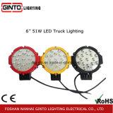 7 '' 4X4 che determinano l'indicatore luminoso del lavoro del LED per il veicolo fuori strada (GT1015-51W)