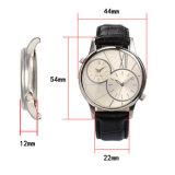 paste het AchterKwarts van het Geval van Japan van roestvrij staal 304 Uw Eigen Horloges van het Merk aan
