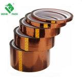KaptonsのPolyimideの電気タスク、3Dプリンタープラットホームのための高温抵抗力がある付着力の金テープ