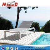 Nuevo diseño de muebles de Playa Venta caliente piscina reposeras con armazón de aluminio